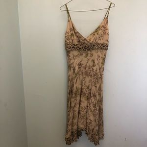 Gorgeous Donna Morgan Hi-Lo Silk Dress. Sz 6